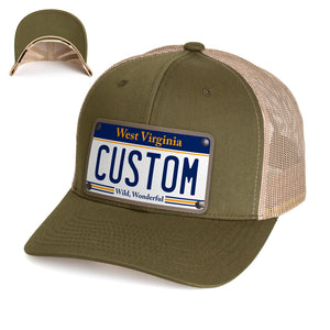 West Virginia Plate Hat