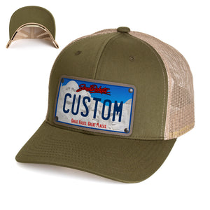 South Dakota Plate Hat