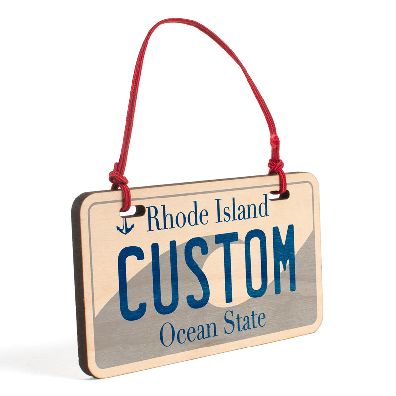 Rhode Island Ornament