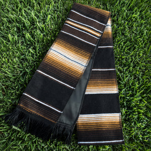 Sarape Graduation sash - Brown