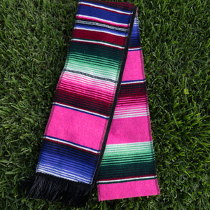 Sarape Graduation sash - Pink (colors vary from Picture)