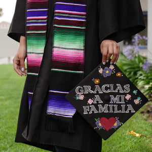 Sarape Graduation sash - Purple