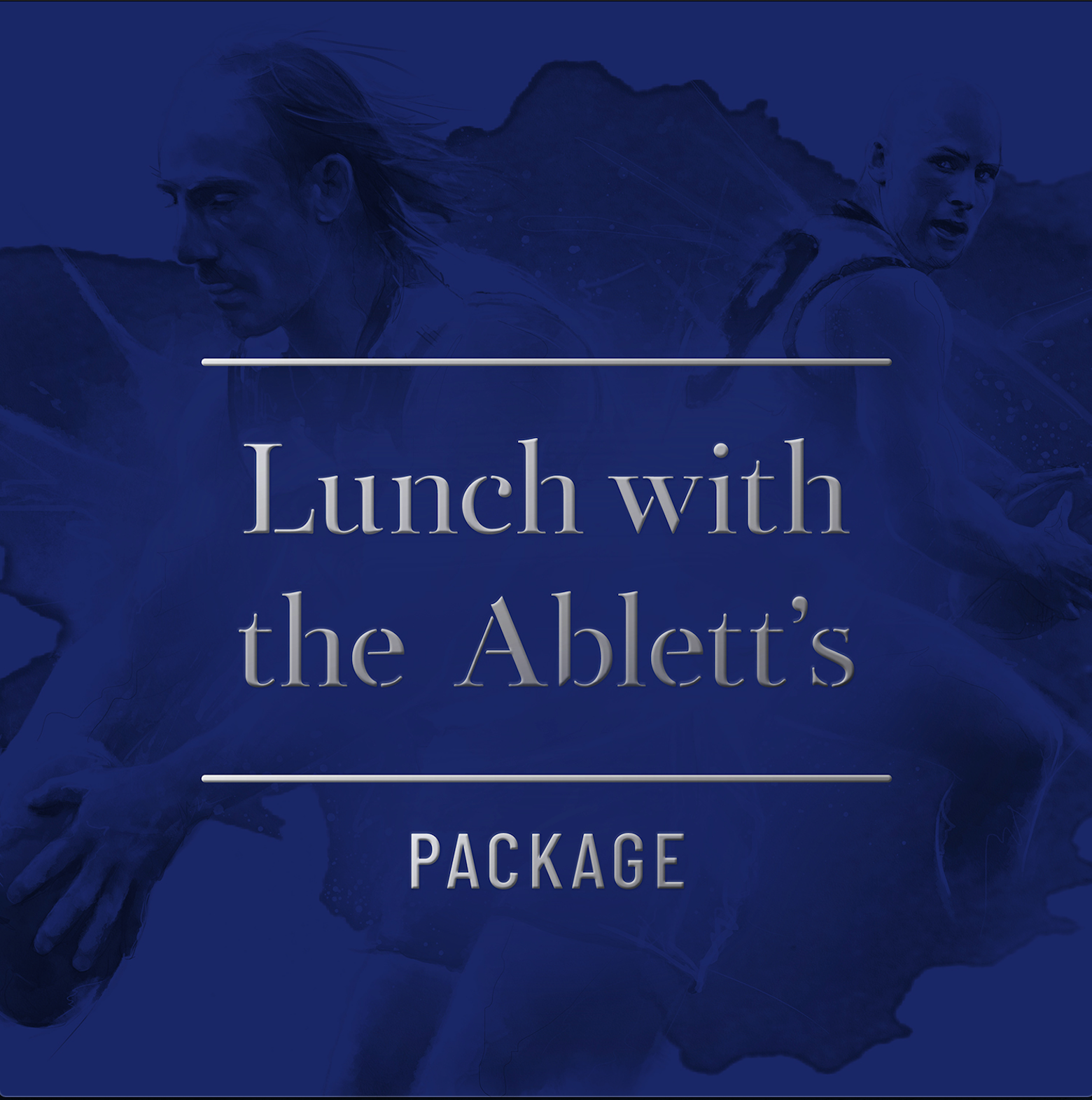 Lunch with the Ablett's Package