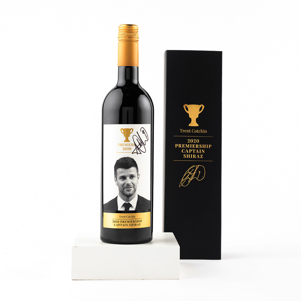 Trent Cotchin Premiership Captains Shiraz
