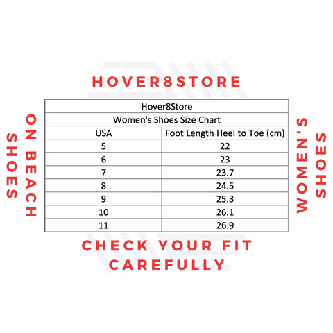 Hover8Store Shoe Size