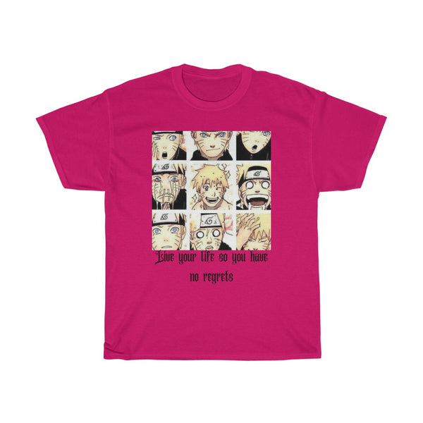 Naruto Faces Cotton Tee