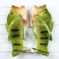 Men's Funny Fish Slippers