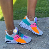 Women's Animal Print Sneakers