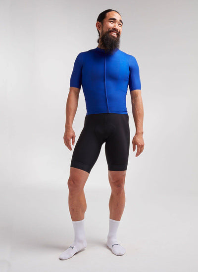 Men's Racing Climbers Jersey - Racing Blue - Brickell Bikes