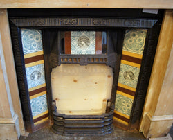 Antique Fireplace Insert - 09343