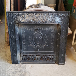 Antique Fireplace Insert (006-173)
