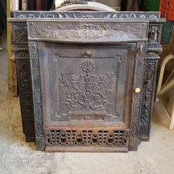 Antique Fireplace Insert (006-171)