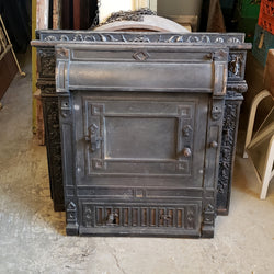 Antique Fireplace Insert (006-170)