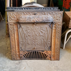 Antique Fireplace Insert (006-169)