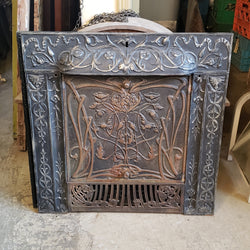 Antique Fireplace Insert (006-172)
