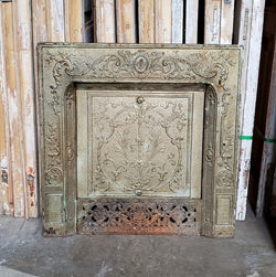 Antique Fireplace Insert (100-060)