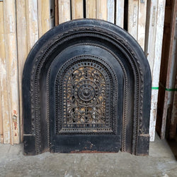 Antique Fireplace Insert (100-064)