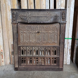 Antique Fireplace Insert (100-059)