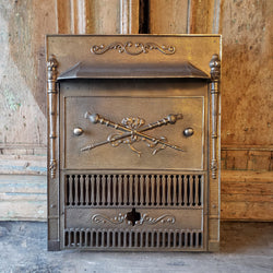 Antique Fireplace Insert (100-360)
