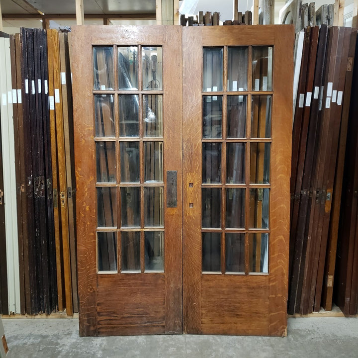 Antique Pair Doors - French (100-094) - 56
