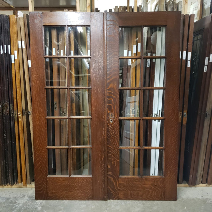 Antique Pair Doors (100-086) - 63