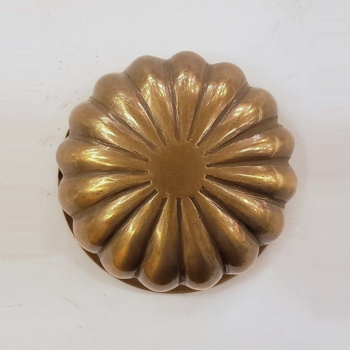 Brass Center Doorknob (RCK-1-AB)