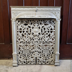 Antique Fireplace Insert (100-148)