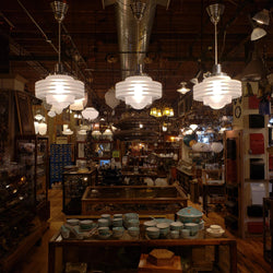 Vintage Atomic Pendant Light (100-305)