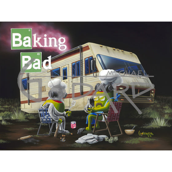 Baking Bad - Canvas