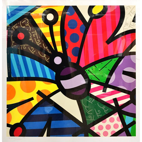 Rothchild Butterfly-Romero Britto