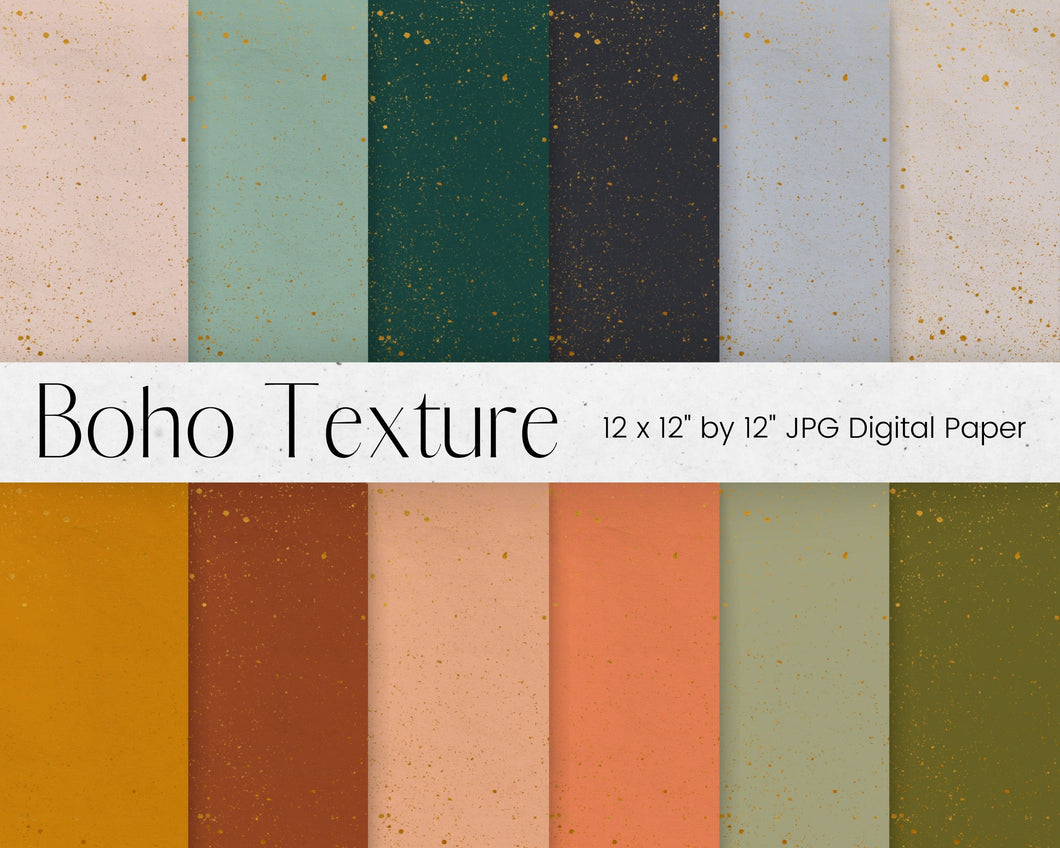 Earth Tones Digital Paper Pattern