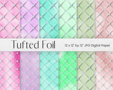 Load image into Gallery viewer, Diamond Tufted Digital Paper