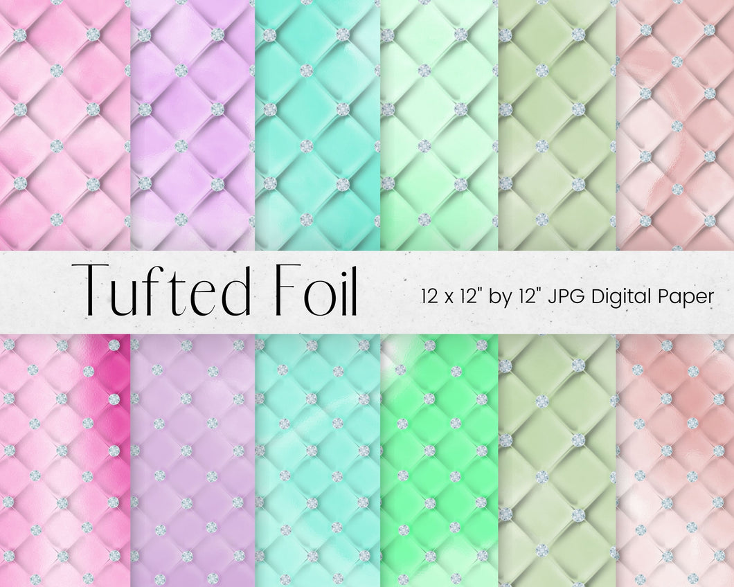 Diamond Tufted Digital Paper