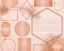 Load image into Gallery viewer, Copper Frame Clipart