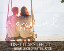 Load image into Gallery viewer, Tropical Holiday Sunlight Overlays