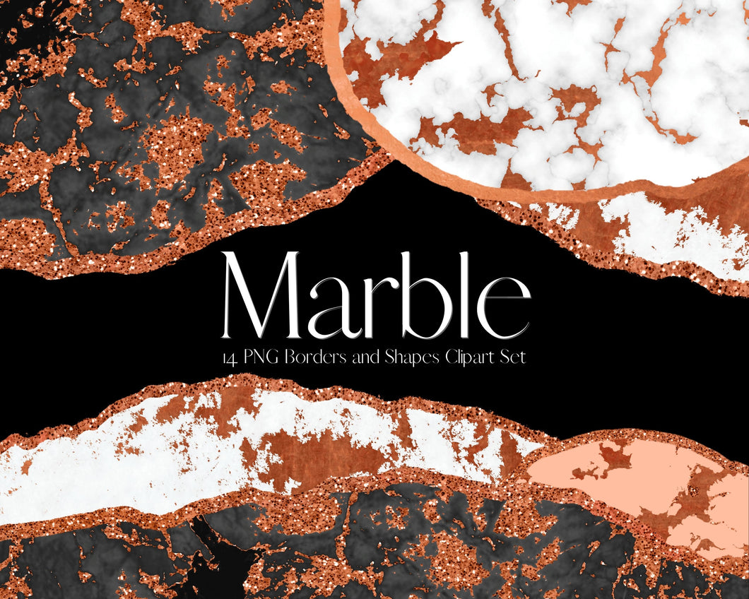 Copper Marble Clipart