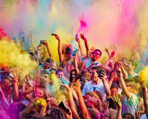 Holi Festival of Colors, love and laughter
