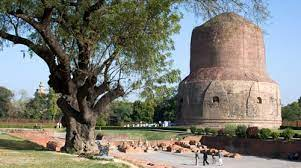 Sarnath in India where Budhdha was enlightened