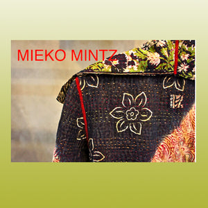 Mieko Mintz Textiles | 4 weeks only | WED July 26 - August 20