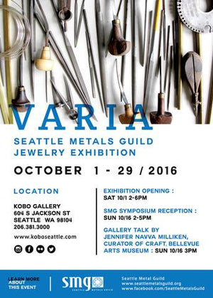 Seattle Metals Guild Jewelry Exhibition