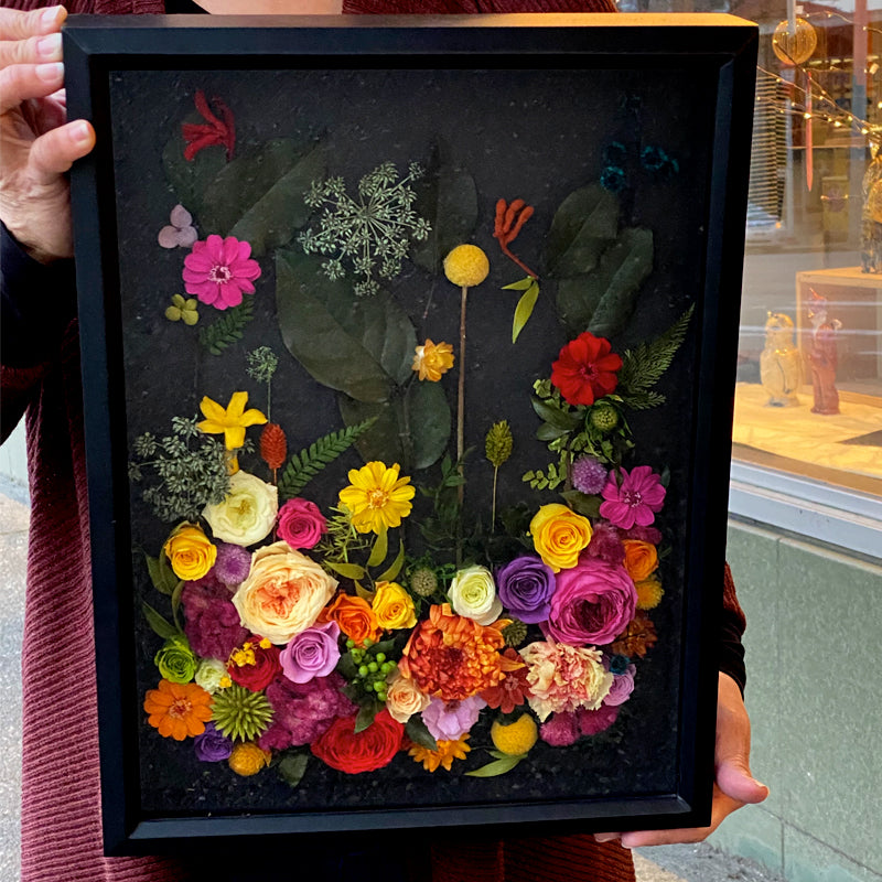 Preserved Floral Shadowbox Workshop with Delinger & Radovich