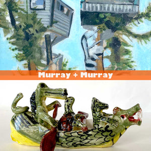 In Our Virtual Art Space: Murray + Murray = Art + Life