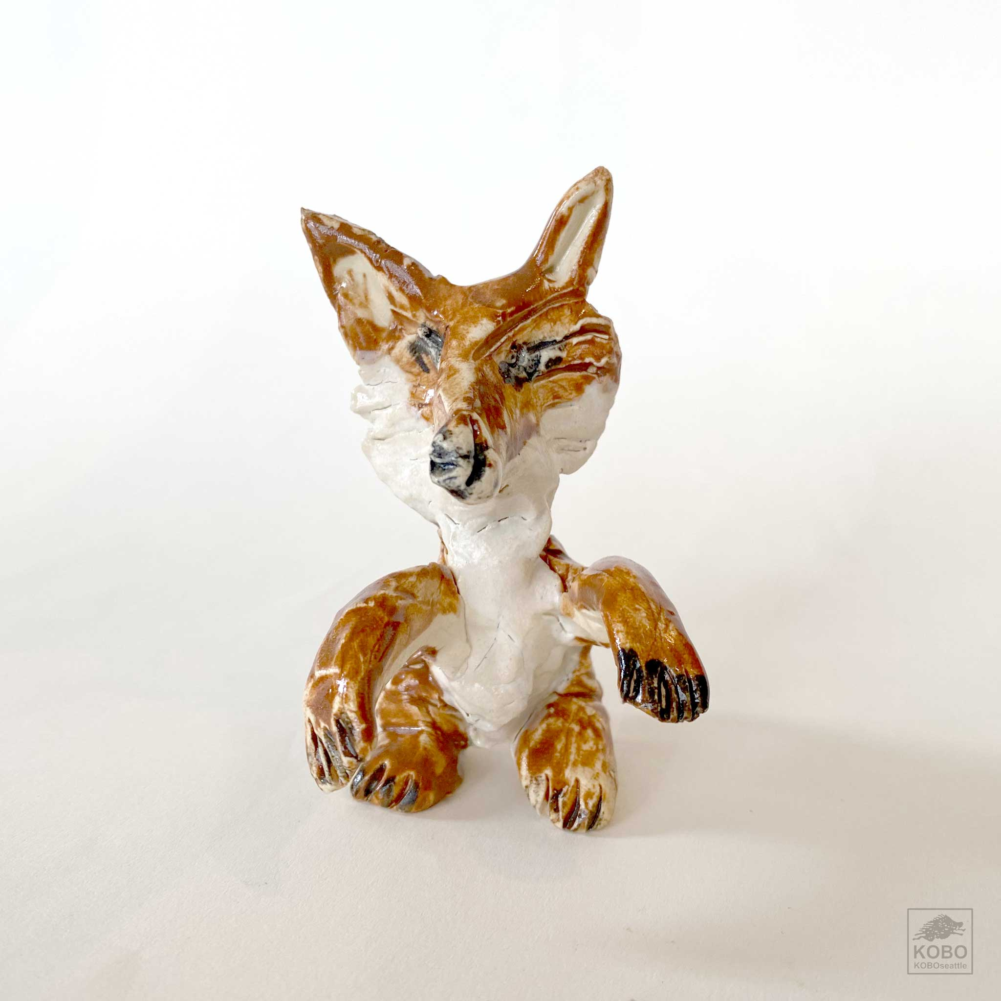 Paws Up Fox
