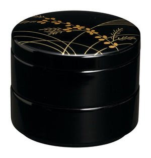 Japanese lacquer jewelry case Akikusa