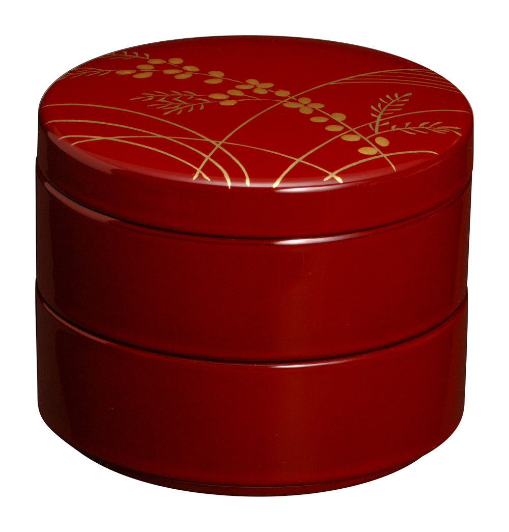 Heiando Japanese Lacquer Jewelry/Accessory Box - Akikusa