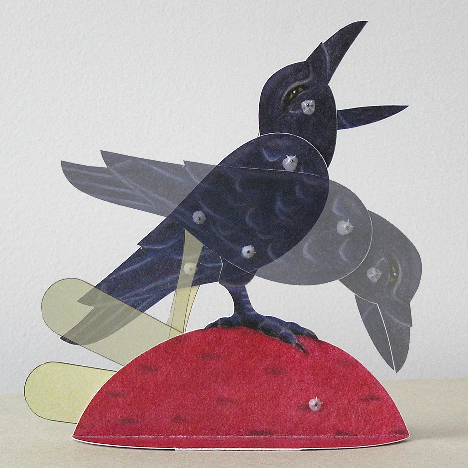 Bliss Kolb Moving Paper Crow