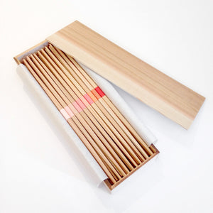 Yoshino Cedar Chopsticks with Cedar box - 30 pair