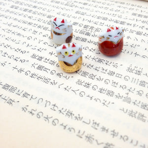 Super Tiny Lucky Cats - set of 10