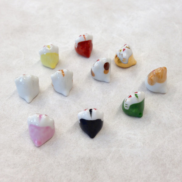 Tiny Lucky Cats in 10 Colors