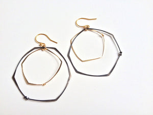 Regina Chang Bullseye Earrings